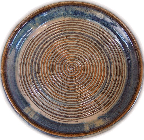 northern lights glaze handmade stoneware pottery