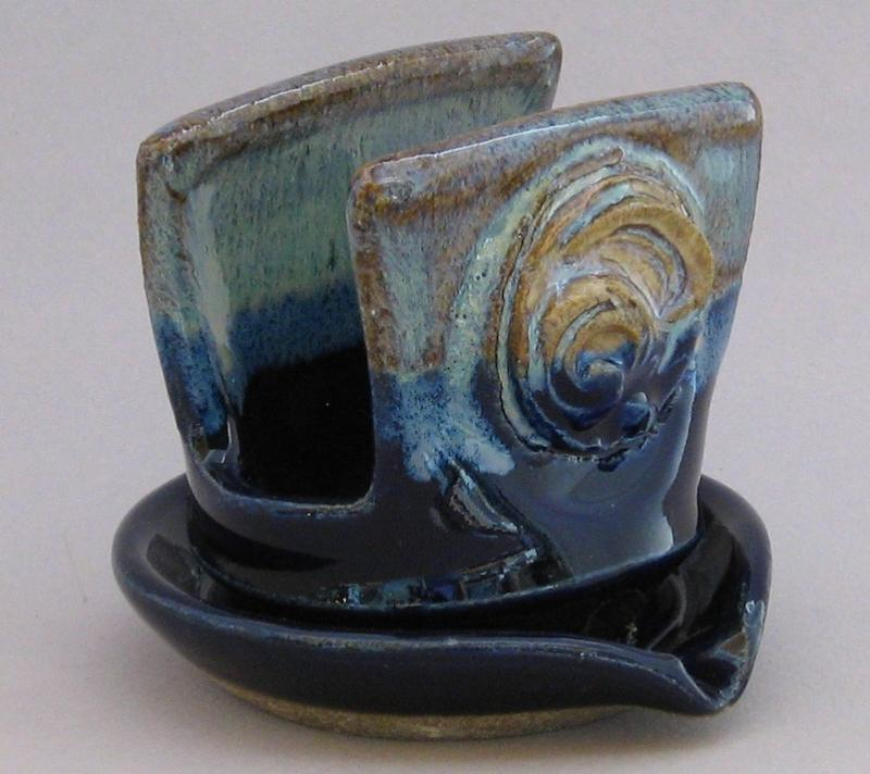 cobalt blue pottery